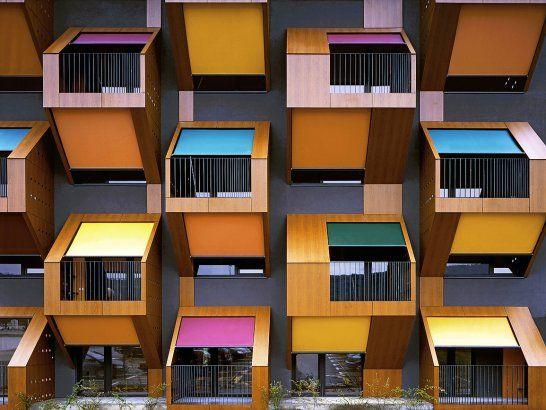 Honeycomb Apartments, Izola, Slovenia, by Ofis Architects