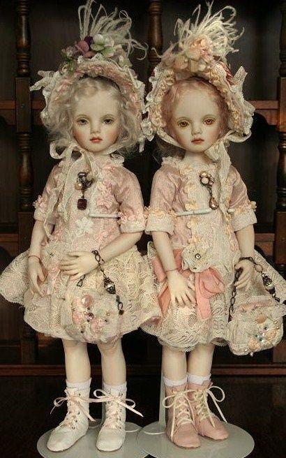 2 poor little rich girls:)