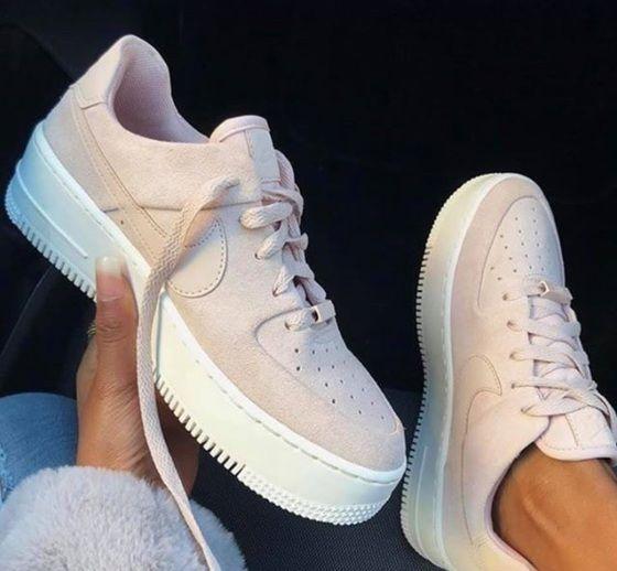 air force 1 beige donna