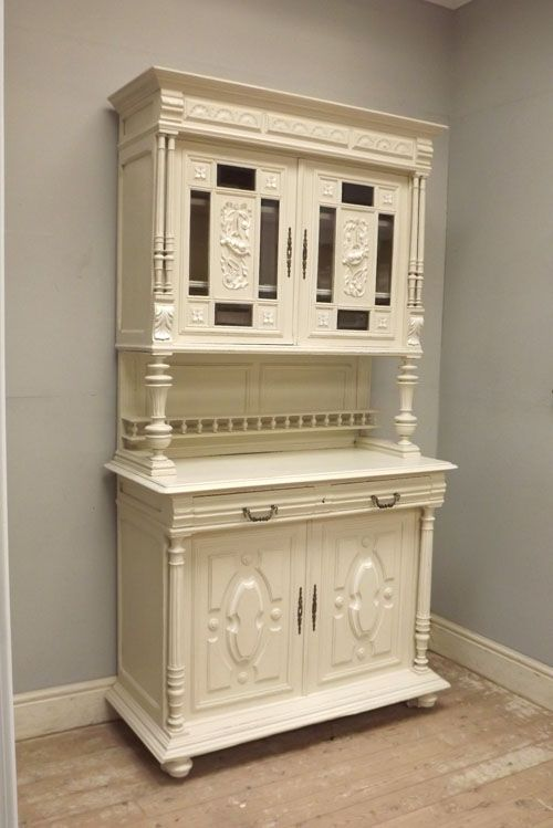 french antique painted henri ii buffet relooking meuble pinterest antiquit s fran ais et. Black Bedroom Furniture Sets. Home Design Ideas