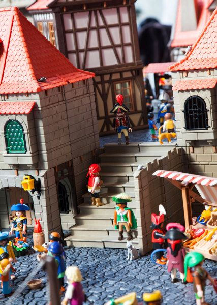 Playmobil Dioramas And Exhibitions On Pinterest