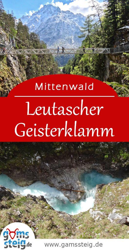 Leutaschklamm Ederkanzel Und Lautersee Rundwanderung Bei
