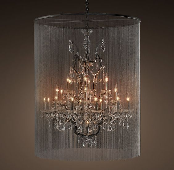 Vaille Crystal Chandelier Extra