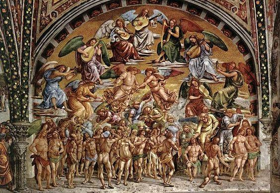 Cappella di San Brizio - Signoreli - Beati in Paradiso
