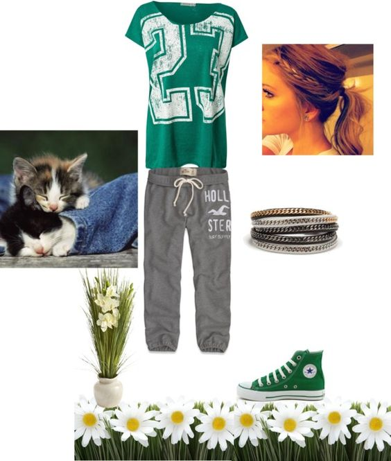 """Lazy Day with Boyfriend 3"" by cherrypink062 ❤ liked on Polyvore"