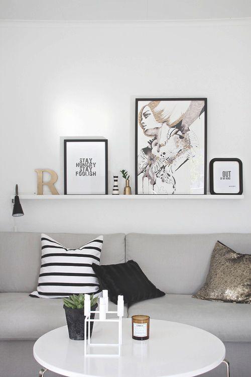 Balda detr s del sof sal n y comedor design of interior - Alicatar cocina detras muebles ...