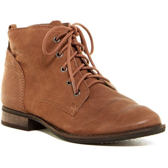 Brown Lace Up Ankle Boots - Cr Boot