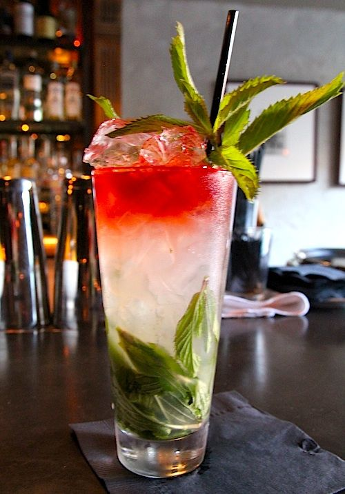 Burwell General Store: Move Over, Mojitos, The Mint Swizzle Is Here