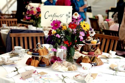 Allie And Tom S Handmade 1930 Inspired Country Wedding Part Two Afternoon Tea Reception Weddings