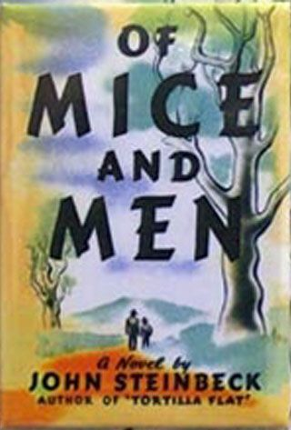 of mice and men book vs Of mice and men study guide contains a biography of john steinbeck the presence of loneliness defines the actions of the diverse characters in the book.