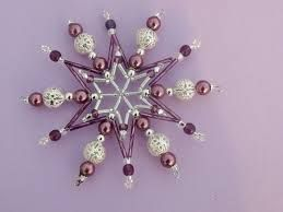 Výsledek obrázku pro vánoční ozdoby z korálků