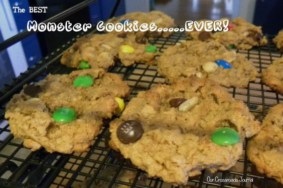 Our Crossroads Journal--The Best Monster Cookies....EVER.