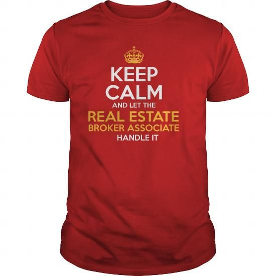 Awesome Tee For Real Estate Broker Associate T Shirts, Hoodies. Check price ==► https://www.sunfrog.com/LifeStyle/Awesome-Tee-For-Real-Estate-Broker-Associate-129336236-Red-Guys.html?41382