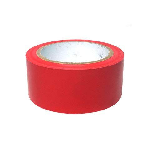 Euro Vinyl Floor Marking Tape 2 Inches X 30 Meters Red Euro In 2020 Things To Sell Vinyl Flooring Strong Tape
