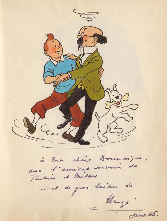 おじさんと踊るタンタンの画像