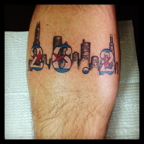 chicago marathon tattoo running tattoos pinterest marathon tattoo marathons and chicago. Black Bedroom Furniture Sets. Home Design Ideas