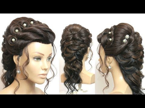Youtube Long Hair Styles Braided Hairstyles For Wedding Step By Step Hairstyles