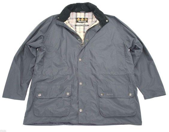 Barbour Marsdon light rain jacket coat waterproof breathable XL