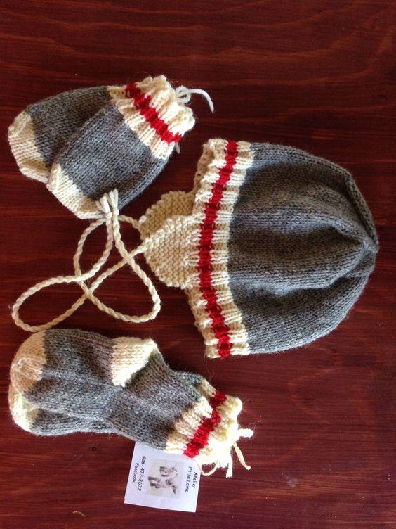 """Lit de """"jobber"""", 100%laine, 12mois, 35$ -Atelier p´tite laine"""