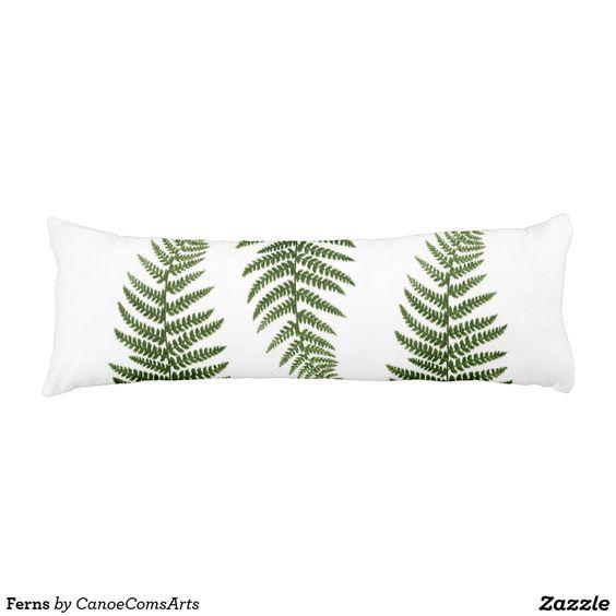 Ferns Body Pillow
