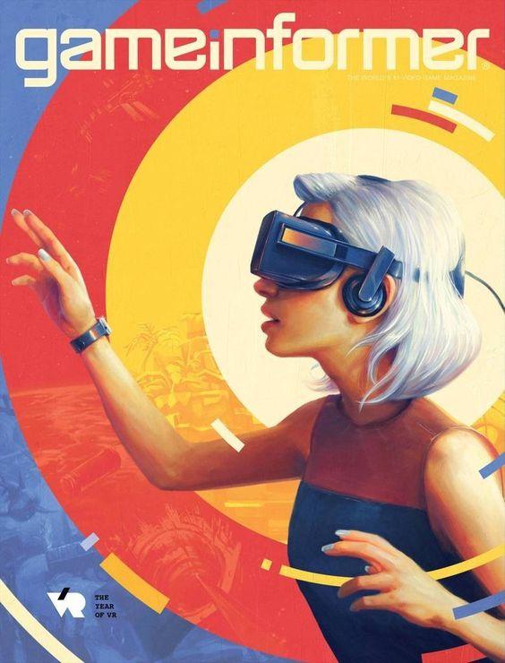 VRをつけた女性のおしゃれな画像