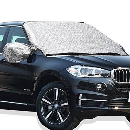 Collapsible Auto Shade X-Type; Two Panel Walwin Shade Up Sunshade