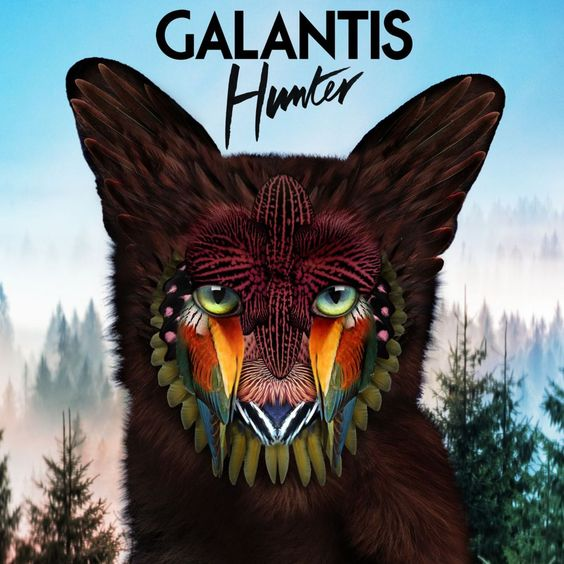 Galantis – Hunter (single cover art)