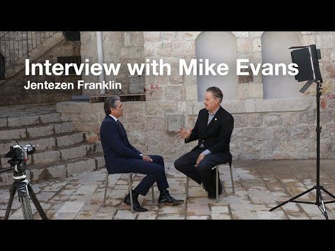 Interview With Mike Evans With Jentezen Franklin Youtube In 2020 Christian Videos Mike Evans Mother Teach