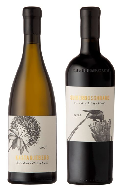 New Sense Of Place Is A New Pinnacle For Stellenbosch Wine Wine Bottle Label Design Wine Bottle Design Wine Packaging Design
