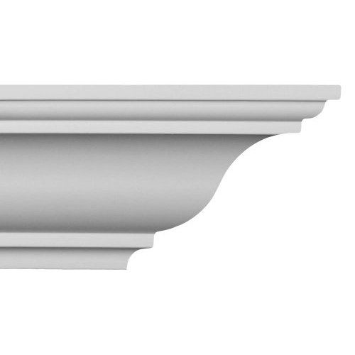 Easy Crown Molding Peel And Stick Crown Molding 4 Inch Easy Crown Molding Crown Molding Installation Molding Installation