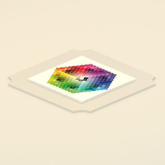 #Color System - Recherche Florent lagrange theorie des jeux 4eme dimension #3D #Manifeste #recherche #communauté #open_source Partition #Florent_lagrange #art #partage #3dPrint #makerbot #media_archeology #mediaarcheology #crafting #paris #art_worker_coalition #annee60 #alternative #piratebox #tiles