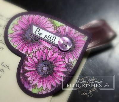 Mama Dini's Stamperia: Beautiful World - Bookmarks
