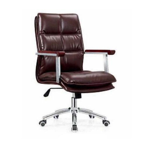 Imitation Leather Office Chair Senior Work Computer Chair Specifications Thicker Padded Meeting White Office Chair Leather Office Chair Ergonomic Office Chair