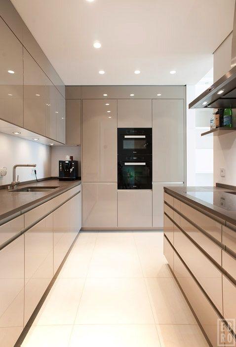 Modest Modern Kitchens