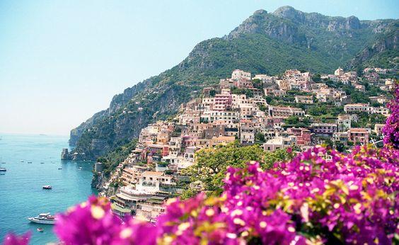 Positano, Amalfi Coast, Italy Photo by Gennia Cui of the Future Collective