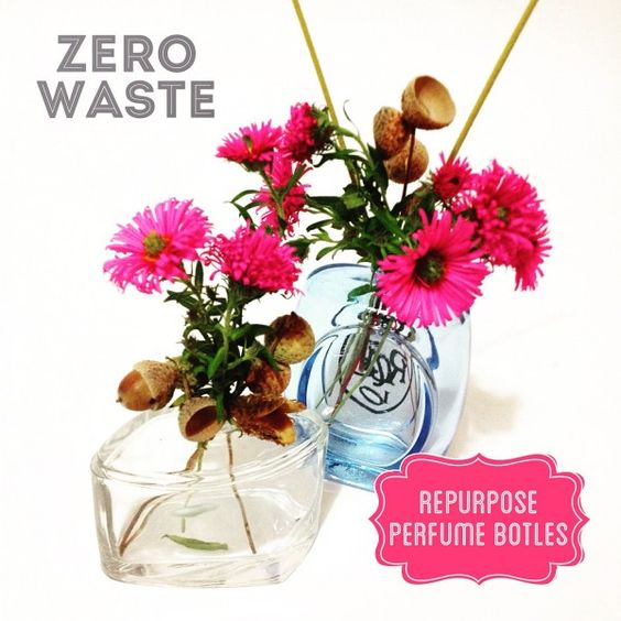 Repurpose old Perfume Bottles | ecogreenlove