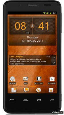 Intel-based smartphone unveiled by Orange for UK and France