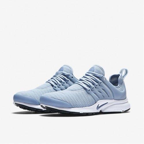 Nike Air Presto Blue Grey X2f Black X2f White X2f Ocean Fog Womens Sale Uk Nike Air Presto Blue New Nike Shoes Nike Air Presto Woman