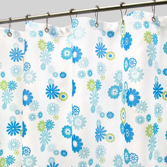 Park B. Smith Starburst Watershed Shower Curtain