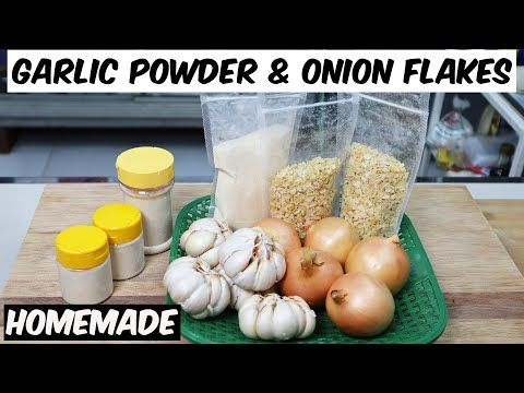 Garlic Powder Onion Flakes Homemade Bubuk Bawang Putih Bubuk Bawang Bombay Buatan Sendiri Youtube Bawang Bombay Bawang Putih Resep Kepiting