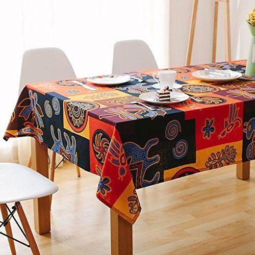 Sandweek Vintage Mayan Culture Printed Pattern Decorative Macrame