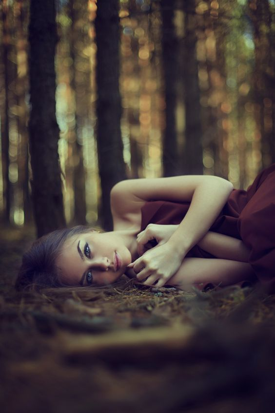 Go f wide dof. Great pose and locale Julia by Evgeniya Egorova, via 500px: