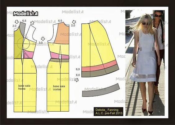 This site offer simple renderings of celebrity/couture fashions