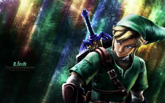 The Legend Of Zelda: A Link Between Worlds HD Widescreen Desktop Wallpaper