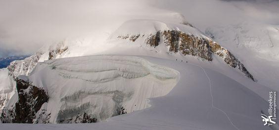 Climbing Mont Blanc via Les Trois Monts - Chamonix, France