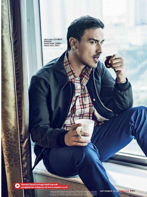 Male Fashion Trends: Hamish Daud por Sury Thoeg para Esquire Indonesia