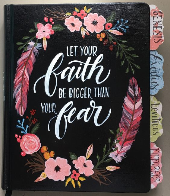 Let your Faith be Bigger than your Fear Journaling Bible Bundle by AmyHopkinsDesigns on Etsy https://www.etsy.com/listing/483767725/let-your-faith-be-bigger-than-your-fear