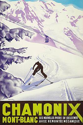 slow skiing