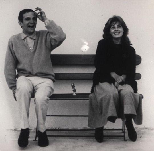 Francois Truffaut Jeanne Moreau Jeanne Moreau Francois Truffaut Jules And Jim