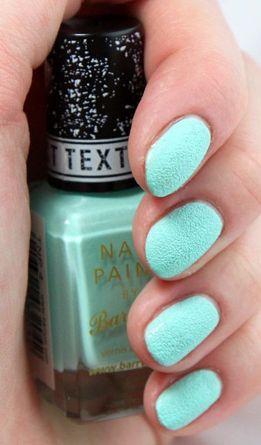 Textured Barry M nail polish (looks so nice but looks a nightmare to get off)